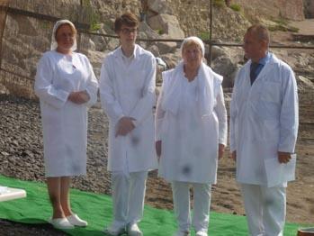 Крещение в Италии, Неаполь